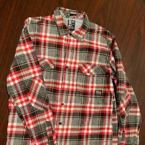 Flannel Billabong Button Down Shirt